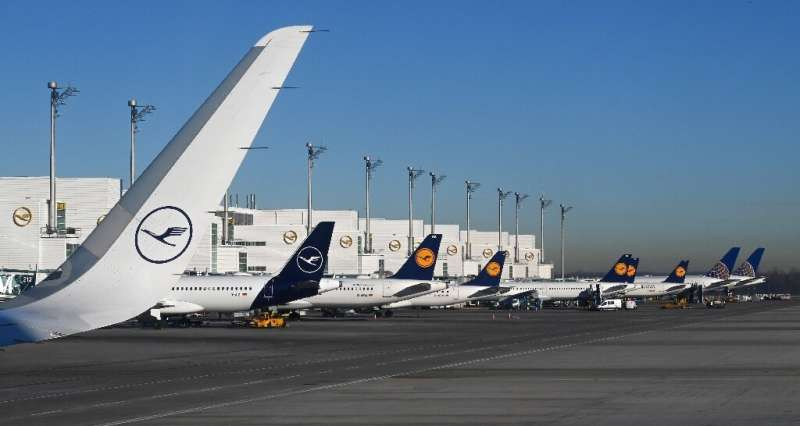 Lufthansa will slash capacity in half in the coming weeks