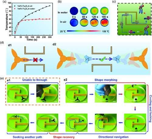 Magnetically-controlled Hydrogel-based Smart Transformers