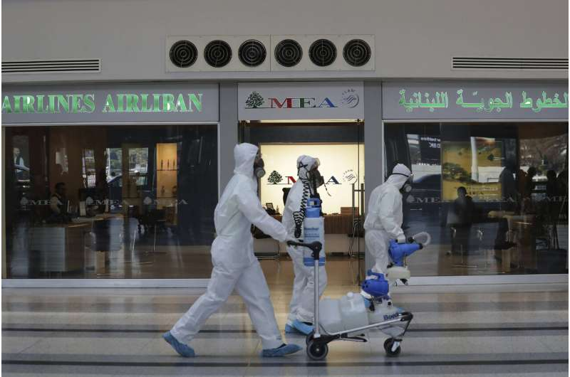 Mideast airlines lose $7B as airports shut to combat virus