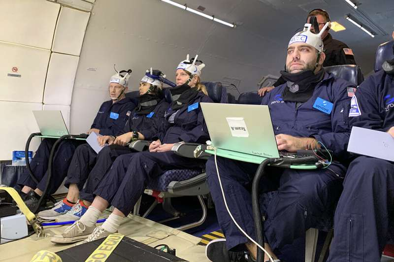 MUSC researchers test brain stimulation in zero gravity