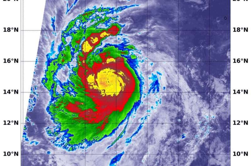 NASA finds Hurricane Marie rapidly intensifying