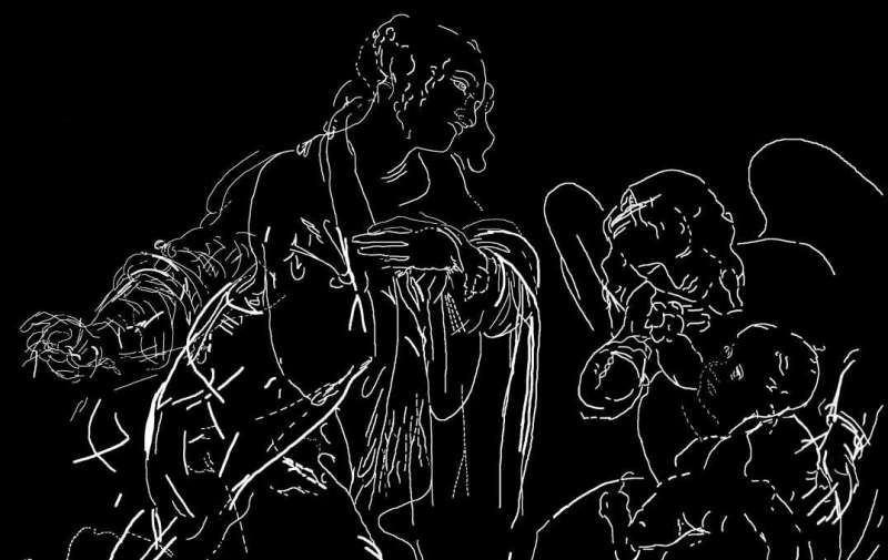 New algorithm helps uncover forgotten figures beneath Da Vinci painting