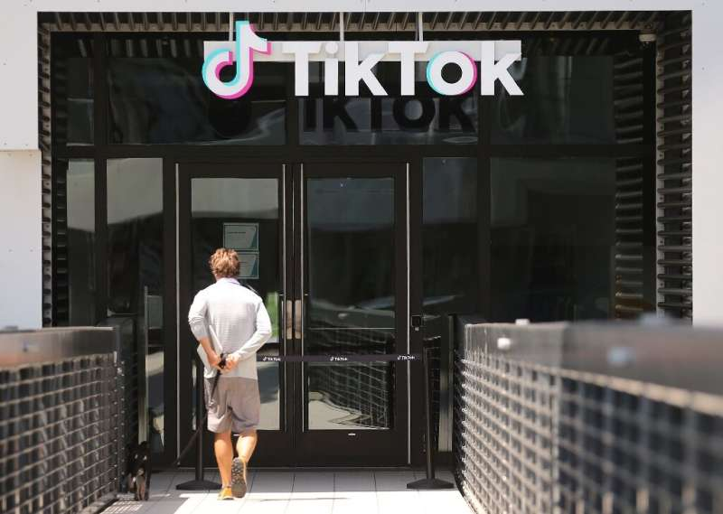 New downloads of the popular video-sharing app TikTok would be banned from midnight Sunday unless a court blocks the order by Pr
