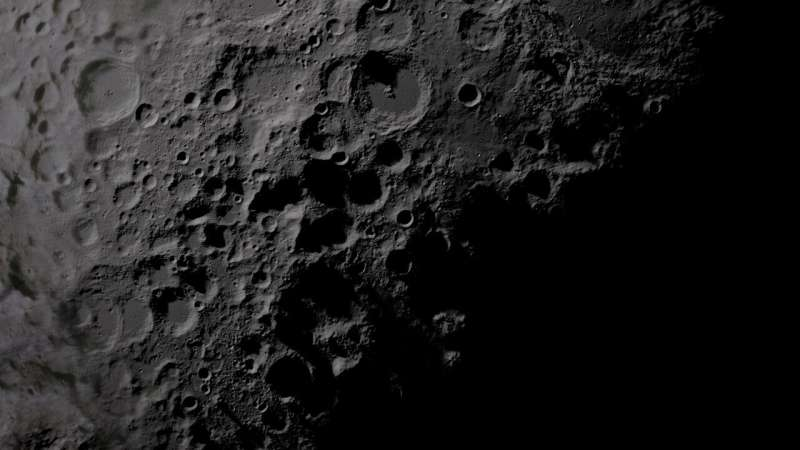 New evidence shows giant meteorite impacts formed parts of the Moon's crust