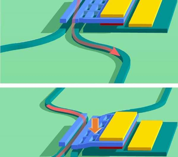 New integrated device for nanometer-scale sensing