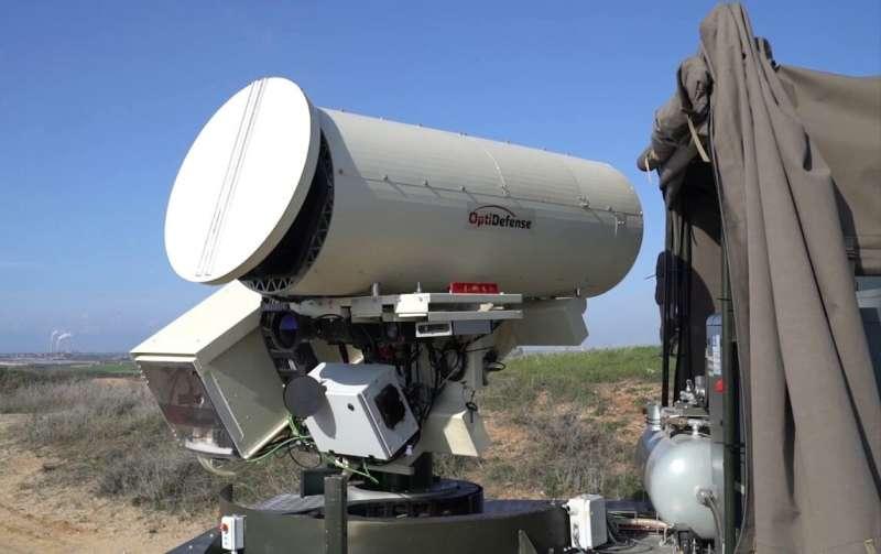 New laser defense system against autonomous drones developed by Ben-Gurion U. researcher