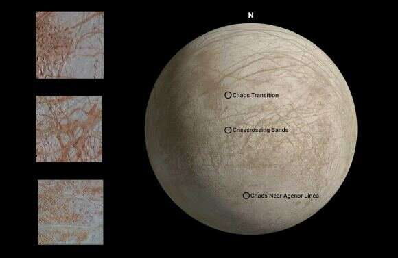 Newly reprocessed images of Europa make this world even more interesting and mysterious