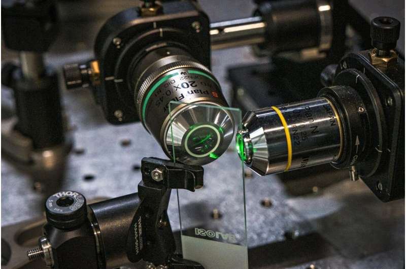 Novel 3D imaging technology makes fluorescence microscopy more efficient