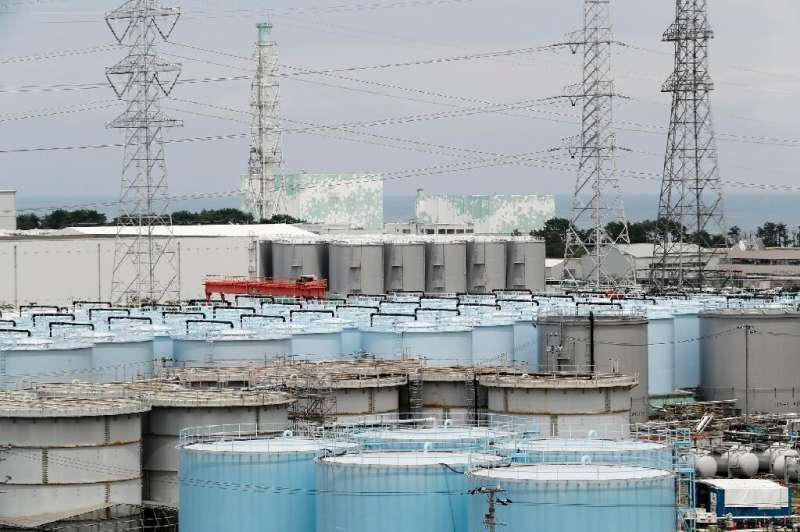 Nuclear plant operator TEPCO is building more tanks to store radioactive water at the stricken Fukushima plant but all will be f