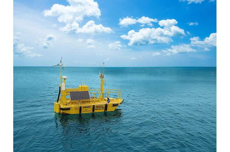 Offshore wind research buoys float into California's waters