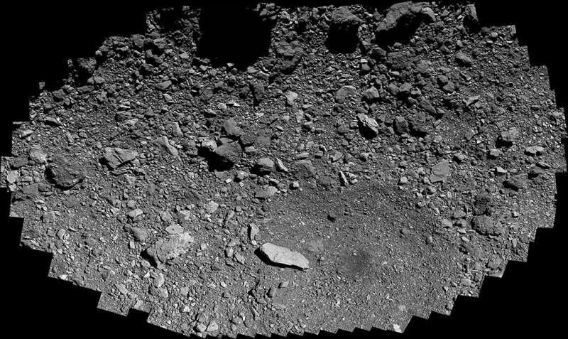 OSIRIS-REx swoops over sample site osprey