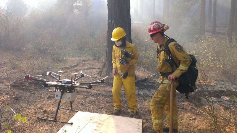 Prescribed burns may introduce new atmospheric toxins