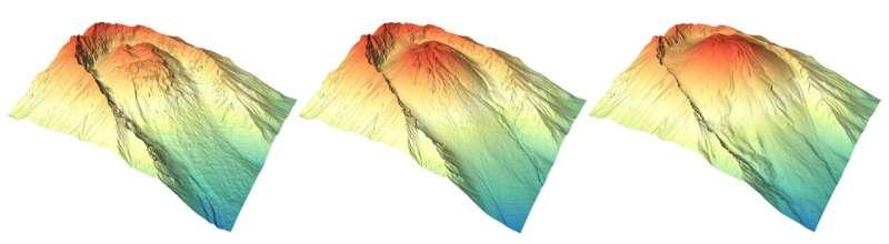 Rebirth of a volcano