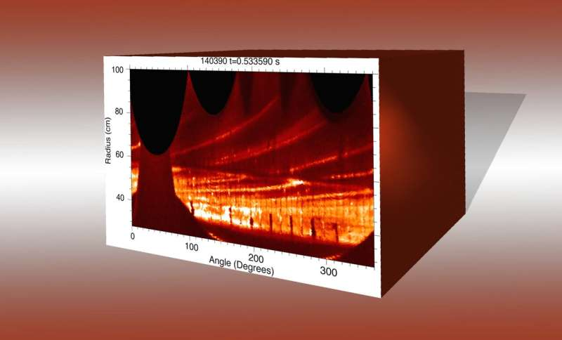 Return of the Blob: Surprise link found to edge turbulence in fusion plasma