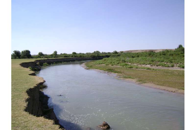 River sediment history suggests it was climate change, not Mongol invasion that doomed Transoxania