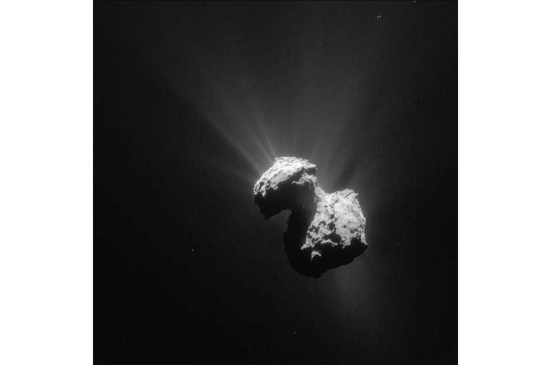 Rosetta and the chameleon comet