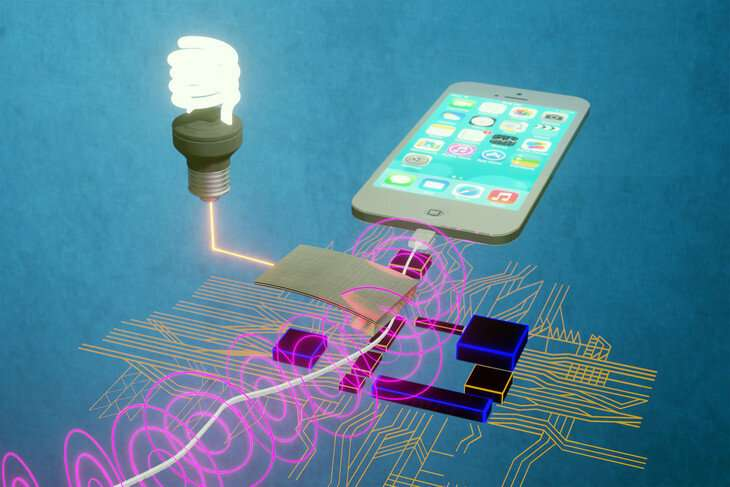 Scientists tap unused energy source to power smart sensor networks