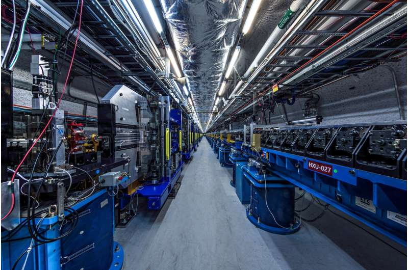 SLAC's upgraded X-ray laser shows its soft side