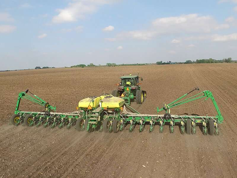 Soybean seeding rates and risk