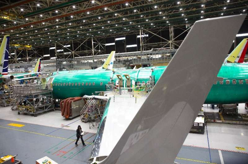 Spirit Aerosystems builds fuselages for the Boeing 737 MAX, which has been grounded since two fatal crashes that killed hundreds