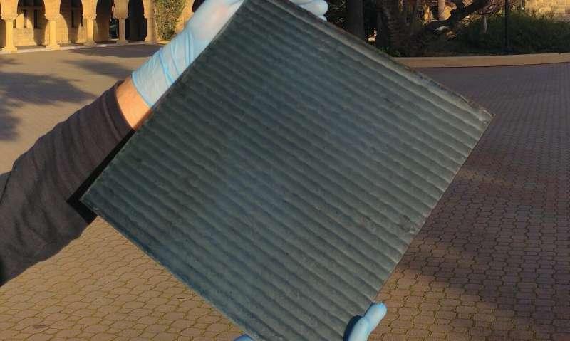 Stanford scientists invent ultrafast way to manufacture perovskite solar modules