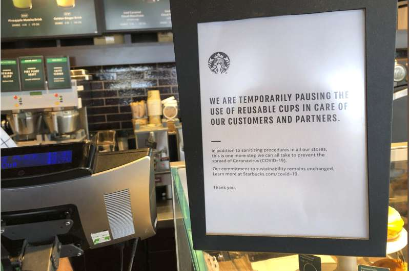 Starbucks stores may go drive-thru only or limit seating