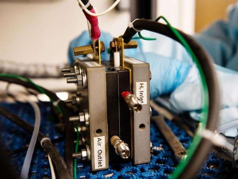 Stronger cobalt for fuel cells