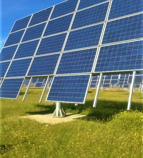 Studying new solar tracking strategies to maximize electric production