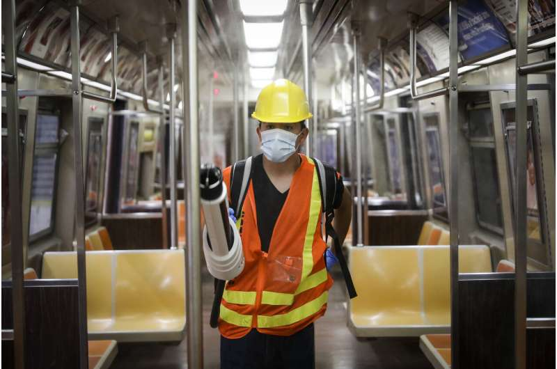 Subways sparkle, but does cleaning decrease COVID-19 risk?