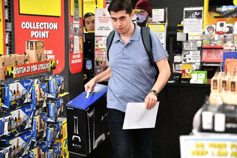 The consoles go on sale with the pandemic creating a massive spike in demand for gaming from people stuck at home