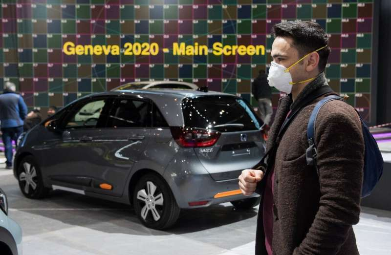 The Geneva auto show usually draws hundreds of thousands of visitors