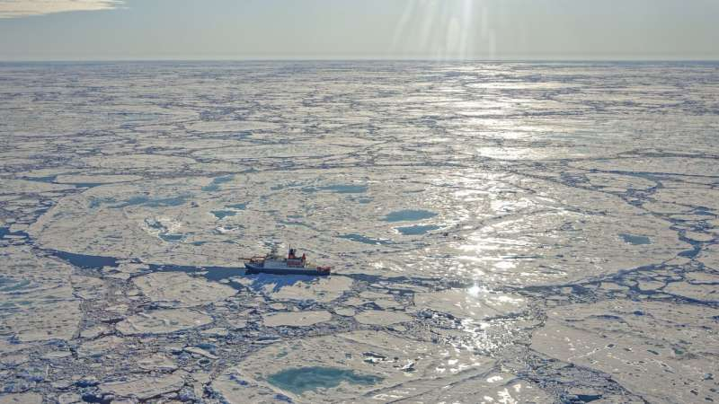 The latest findings on the MOSAiC floe