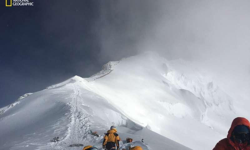 There are microplastics near the top of Mount Everest too