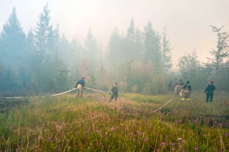 The study found that the prolonged heat this year across Siberia would happen less than once every 80,000 years without human-in