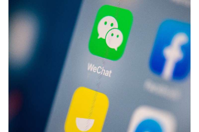The US order would have slowed WeChat down and made it unusable in the United States for videochats with family and friends