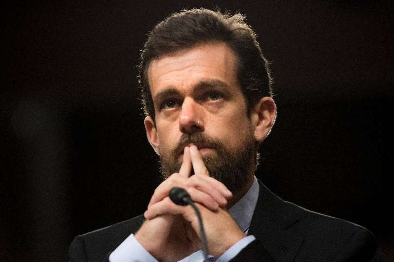 Twitter CEO Jack Dorsey, pictured here in 2018, said the social platform has been a valuable resource to people during the pande