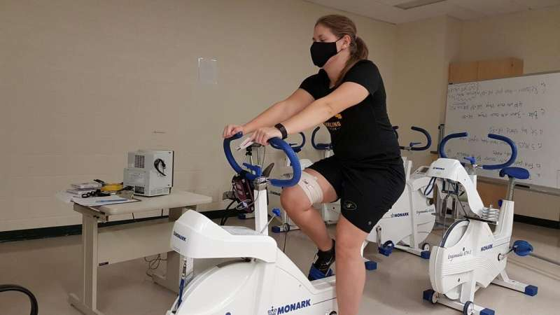 USask researchers find face masks don't hinder breathing during exercise