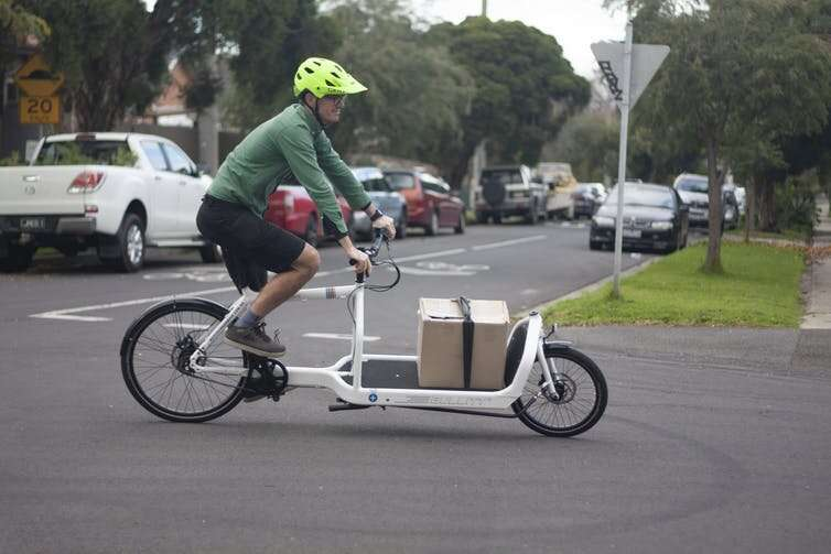 We're more likely to ride bikes if we can carry more on them