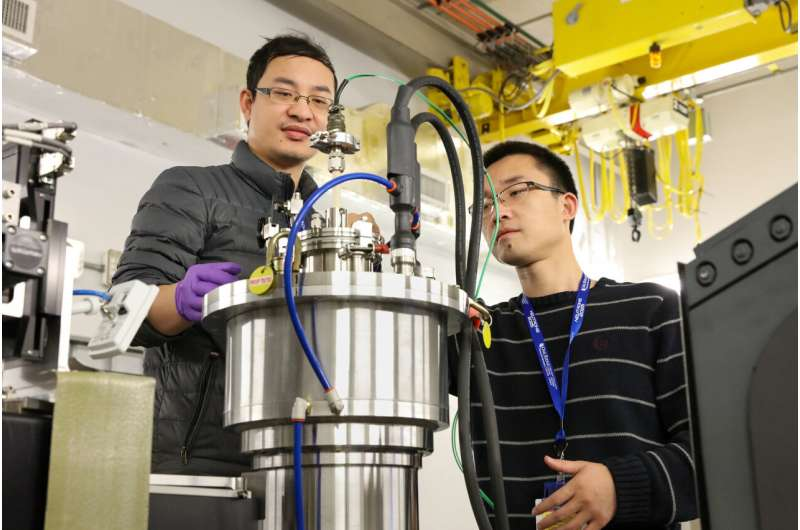 West Virginia researchers use neutrons to study materials for power plant improvements