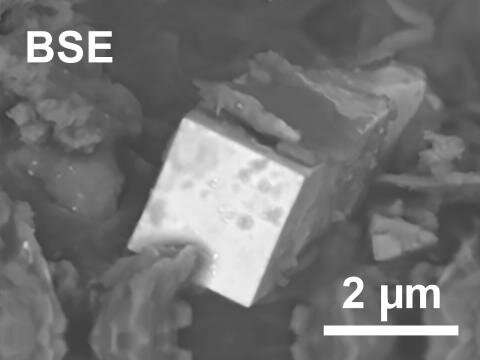 What a crystal reveals about nuclear materials processing
