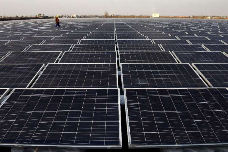 Wind and solar only made up a combined 7.7 percent of China's national power generation in 2018 according to researchers