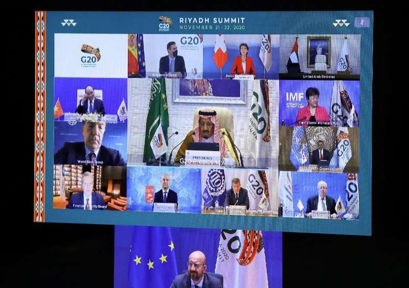 Saudi Arabia hosts a G20 summit in a first for an Arab nation, with the virtual forum dominated by efforts to tackle the coronav