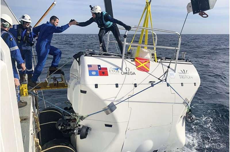 Scientists dive into 'Midnight Zone' to study dark ocean