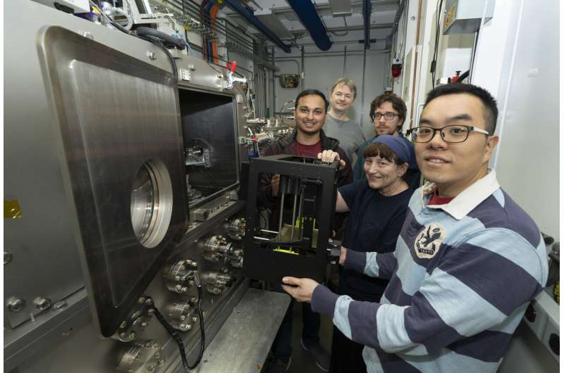 Investigating 3-D-printed structures in real time