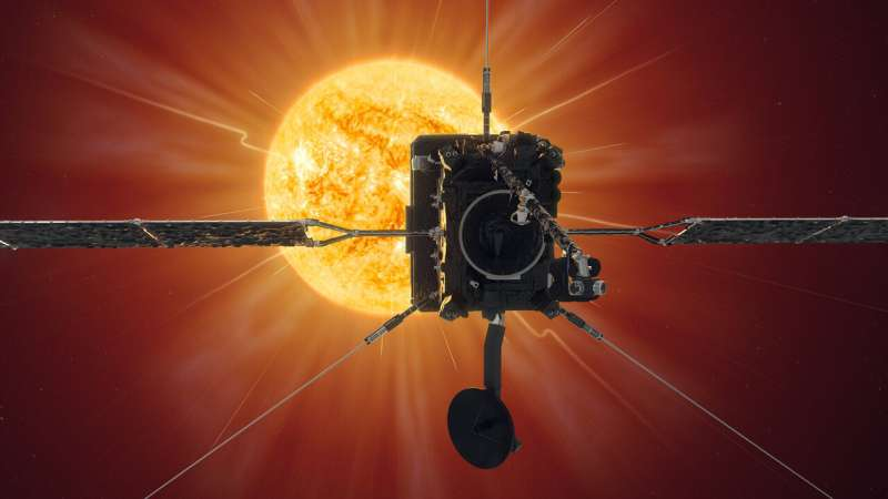 Solar Orbiter makes first close approach to the sun