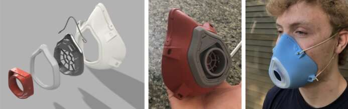 Scientists design a rechargeable N95 mask with a custom fit