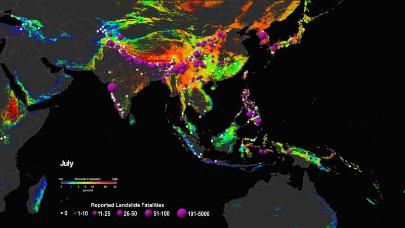 Climate change could trigger more landslides in High Mountain Asia