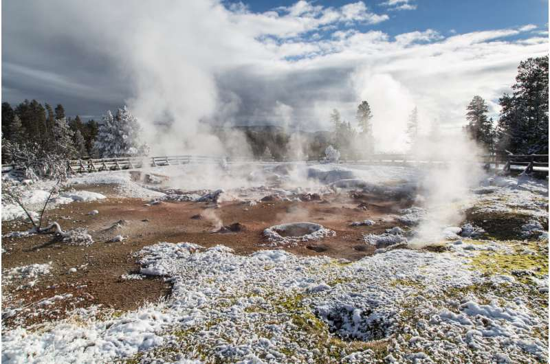 Discovery of ancient super-eruptions indicates the yellowstone hotspot may be waning