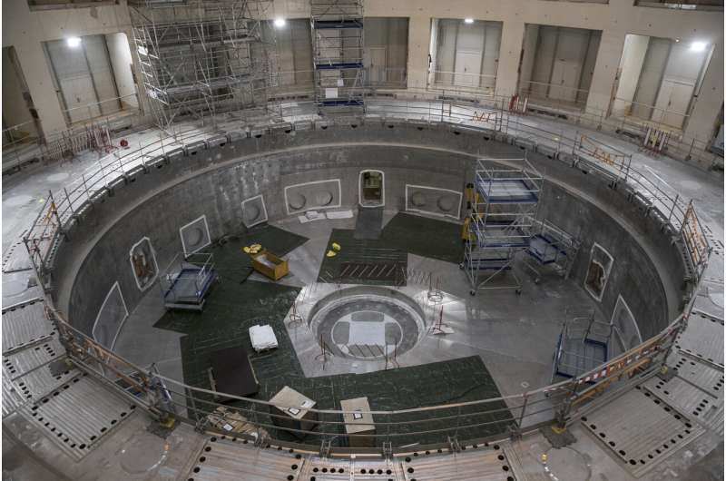 France's global nuclear fusion device a puzzle of huge parts