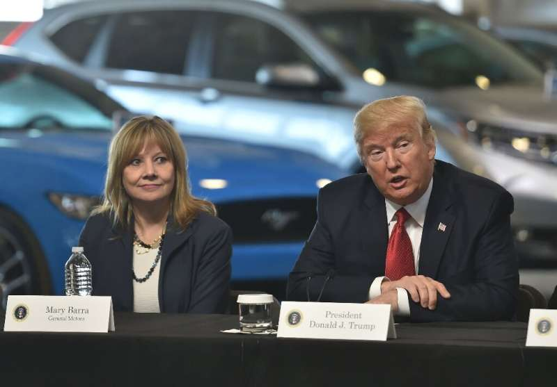 General Motors Chief Executive Mary Barra endorsed Joe Biden's plan for electric car autos and exited litigation favored by Dona